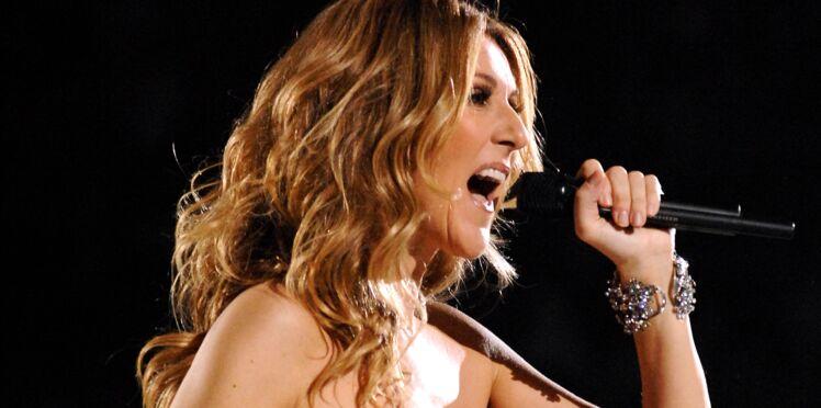 Céline Dion ose les cuissardes dentelle ! Qu'en pensez-vous ?