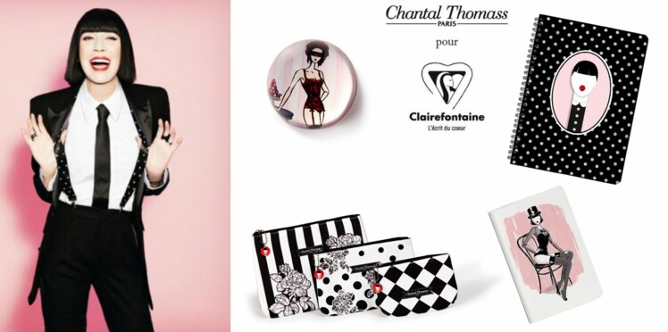 Chantal Thomass s'invite chez Clairefontaine