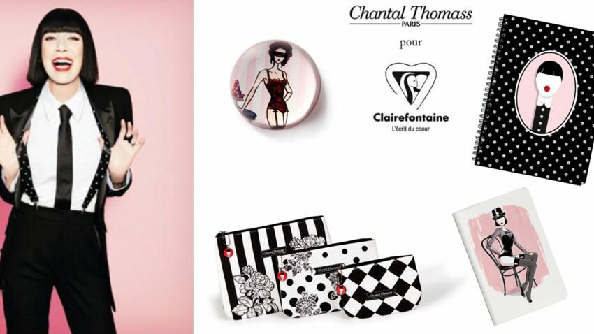 Chantal Thomass s'invite chez Clairefontaine