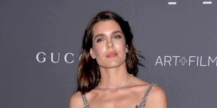 Charlotte Casiraghi ravissante en robe Gucci
