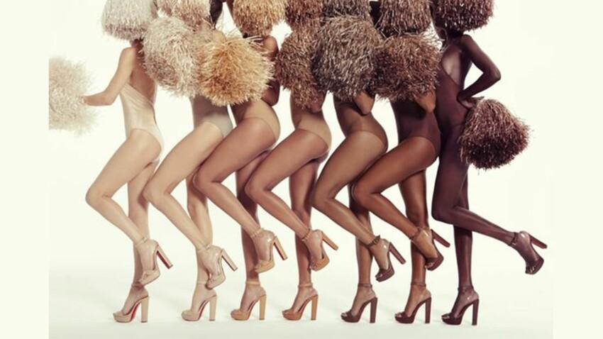 Wanted : des chaussures nude pour toutes les carnations de peau par Christian Louboutin