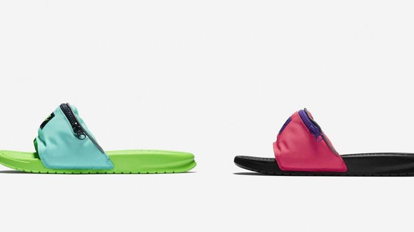 Claquette-banane : Nike ose la fusion improbable !