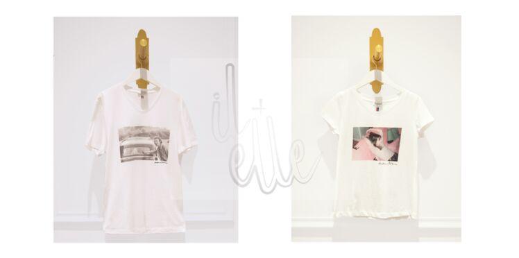 Claudie Pierlot : des T-shirts en hommage au couple Gainsbourg-Birkin