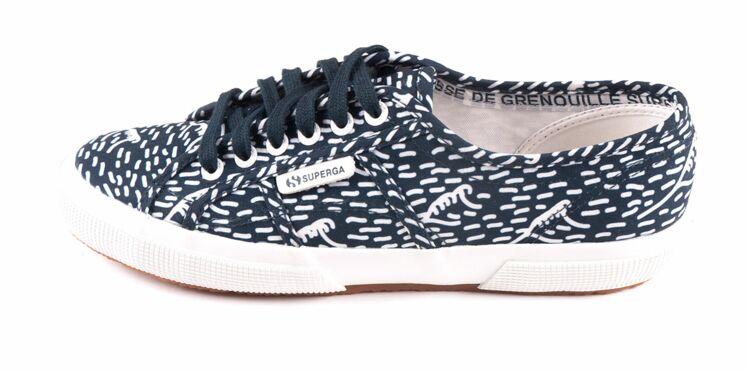 Superga x Cuisse de Grenouille : la chaussure qui surfe sur votre été