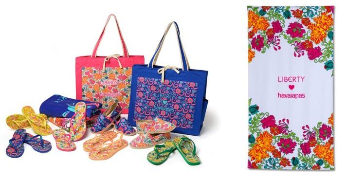 Liberty London x Havaianas : la collab' fleurie de l'été !