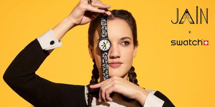 On craque pour la montre Jain X Swatch
