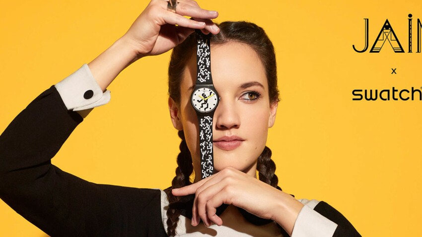 On craque pour la montre Jain X Swatch