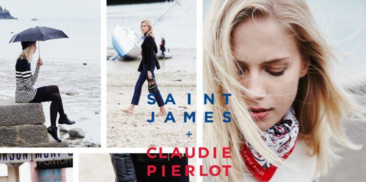 Saint James s'invite chez Claudie Pierlot !