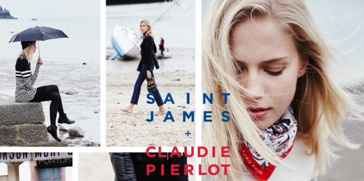 Saint James s'invite chez Claudie Pierlot !