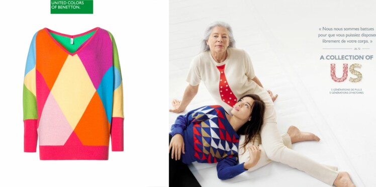 La collection capsule des 50 ans de Benetton