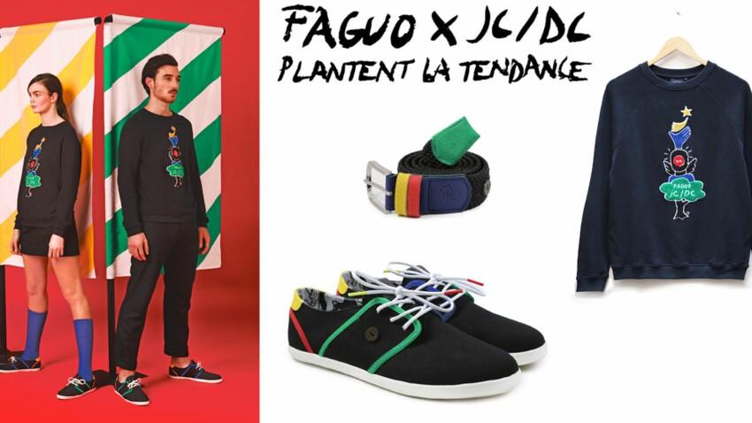 La collection capsule Faguo x JC/DC
