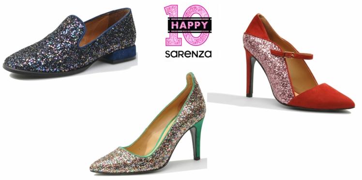 La collection capsule Happy10 de Sarenza