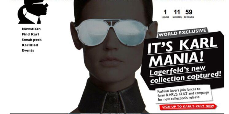 La nouvelle collection de Karl Lagerfeld disponible sur Net-aPorter.com