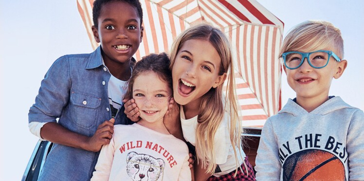 Direction la Californie avec la nouvelle collection Esprit Kids !