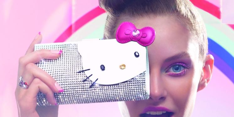 Lancement d'une collection Hello Kitty par Swarovski