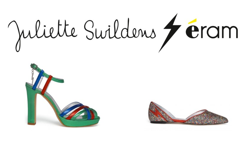 Juliette Swildens x Eram : soirée disco ! : Femme Actuelle