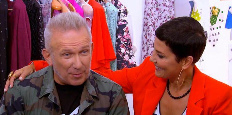 Cristina Cordula invite Jean Paul Gaultier dans Les Reines du Shopping