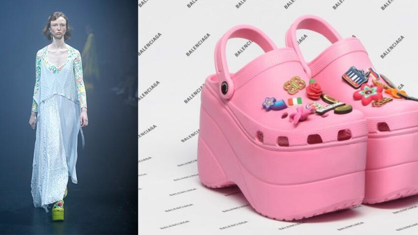 Alerte mode - Balenciaga revisite les Crocs, découvrez leur look !