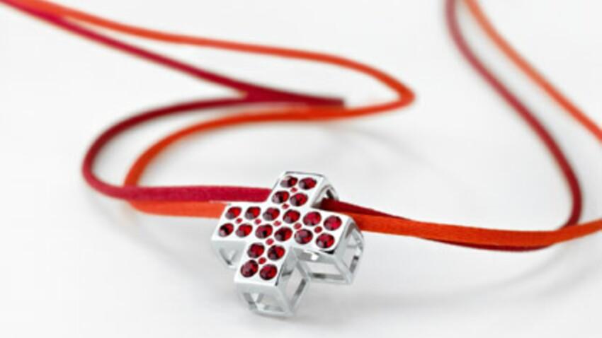La croix rouge, un bijou qui a du cœur