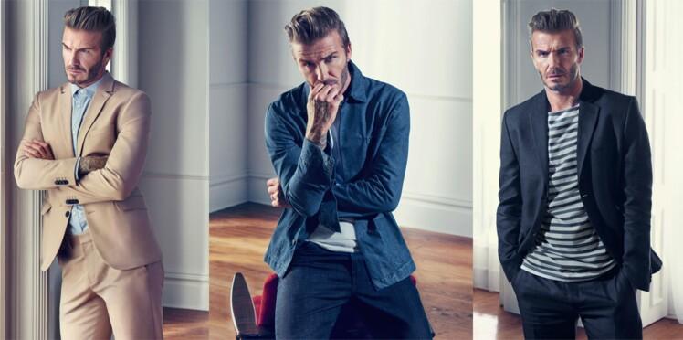 David Beckham fait la mode H&M