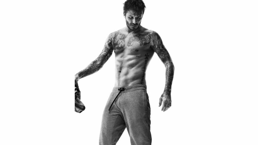 David Beckham se déshabille pour H&M