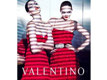 Valentino présente son dernier défilé