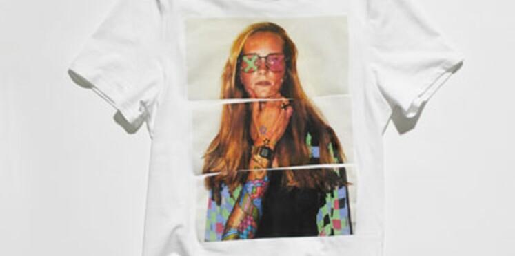 Des T-shirts H&M à partir d'images d'internautes