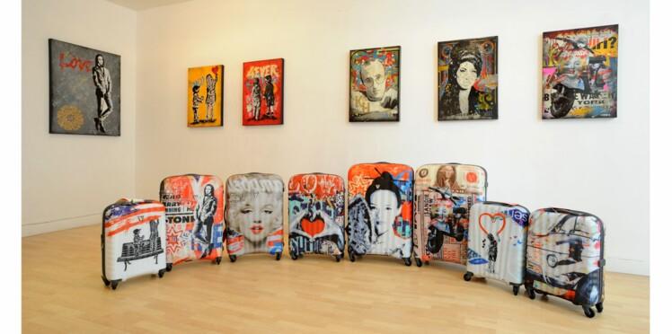 Des valises arty chez Roncato