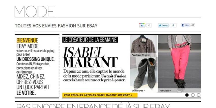 EBay s'enrichit d'une nouvelle adresse internet, entièrement dédiée à la mode