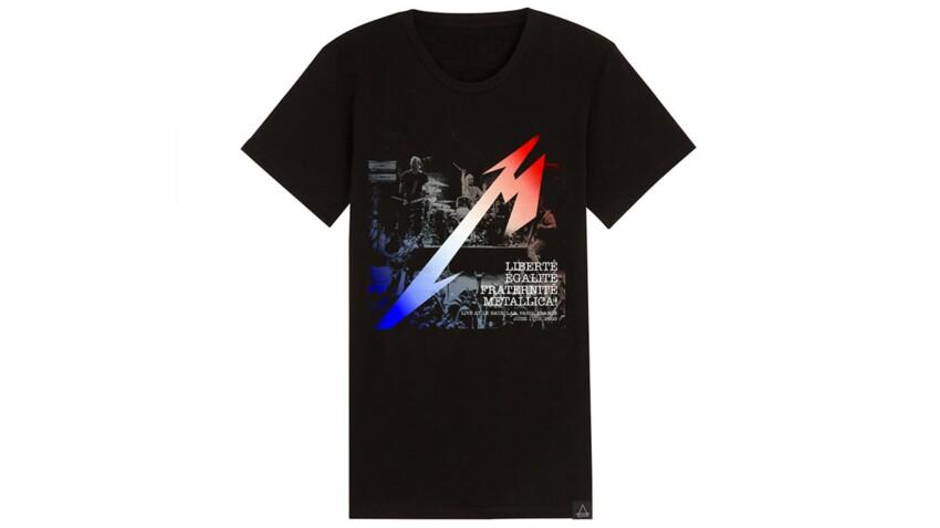 Eleven Paris : un tee-shirt en hommage aux victimes du Bataclan