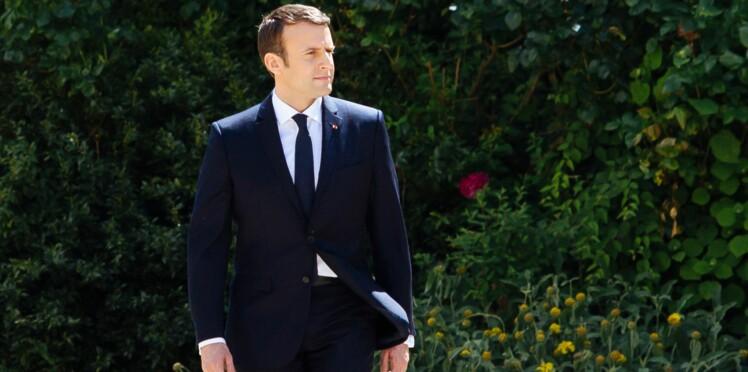 Emmanuel Macron : son costume fait un carton depuis l'investiture