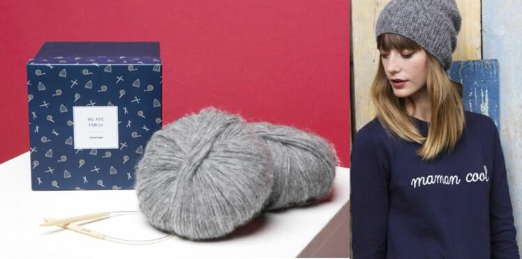 Le coffret DIY d'Émoi Émoi x Breaking the wool