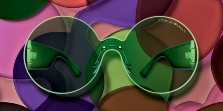 Emporio Armani invite les internautes à créer et personnaliser leurs lunettes en ligne