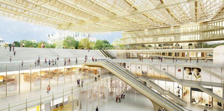 J-50 pour le nouveau Forum des Halles