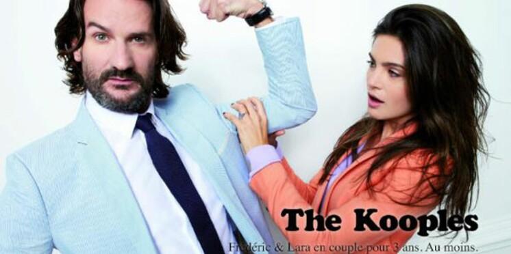 Frédéric Beigbeder et Eric Cantona prennent la pose pour The Kooples