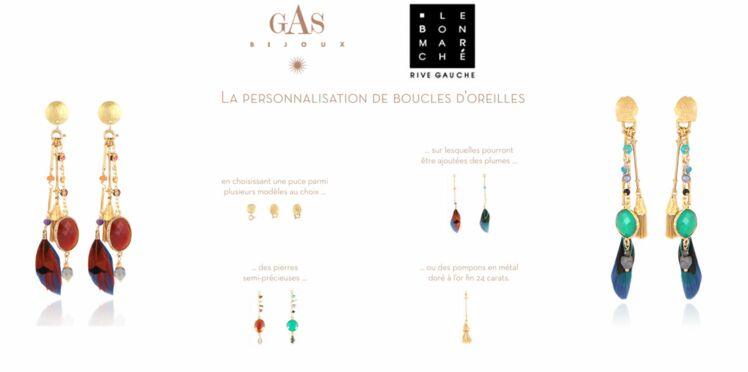 Gas bijoux sur-mesure au Bon Marché