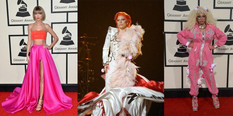 Grammy Awards 2016 : les looks qu'il ne fallait pas manquer !