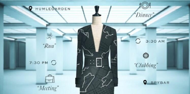 La robe du futur : H&M et Google lancent un vêtement créé grâce aux données de votre téléphone