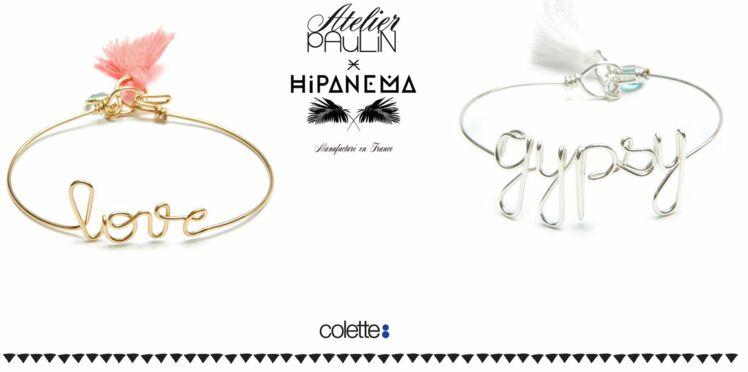 Les jolis bracelets Hipanema x Atelier Paulin