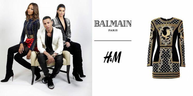 Balmain et H&M, le lookbook de la collab' enfin dévoilé !