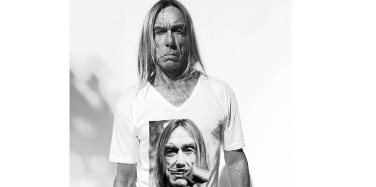 Vente privée.com édite un T-shirt collector pour la sortie du nouvel album d'Iggy Pop