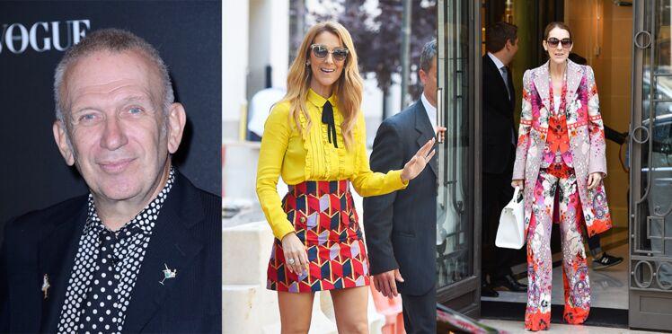 Jean Paul Gaultier pas fan des tenues de Céline Dion