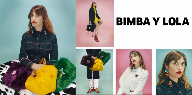 Jeanne Damas prend la pose pour Bimba y Lola
