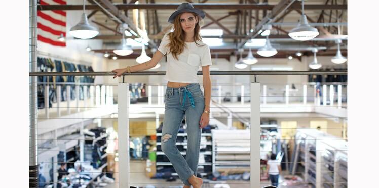 Levi's x Chiara Ferragni : des jeans nineties à la cool