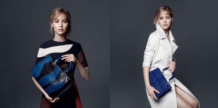 Jennifer Lawrence, urbaine et chic pour Dior