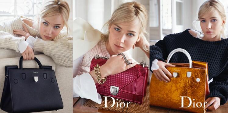 Jennifer Laurence dévoile les nouveaux sacs Dior