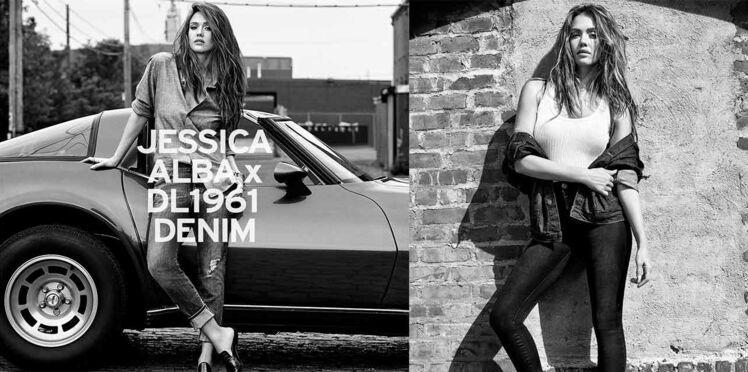 La collab' denim Jessica Alba x DL1961