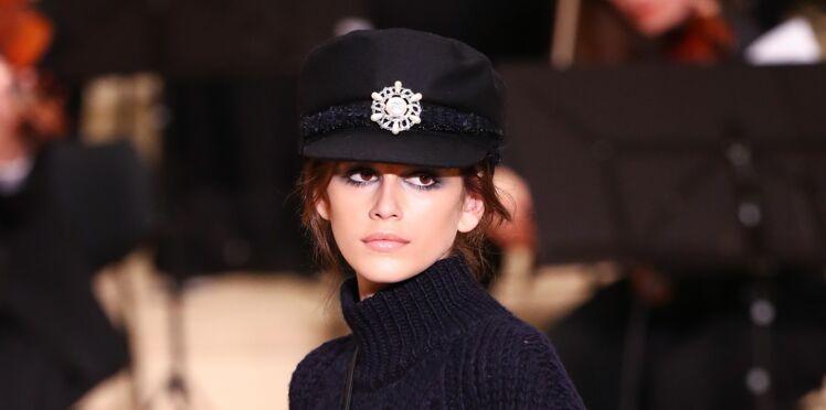 Kaia Gerber, la fille de Cindy Crawford,  devient styliste pour une grande maison de couture française