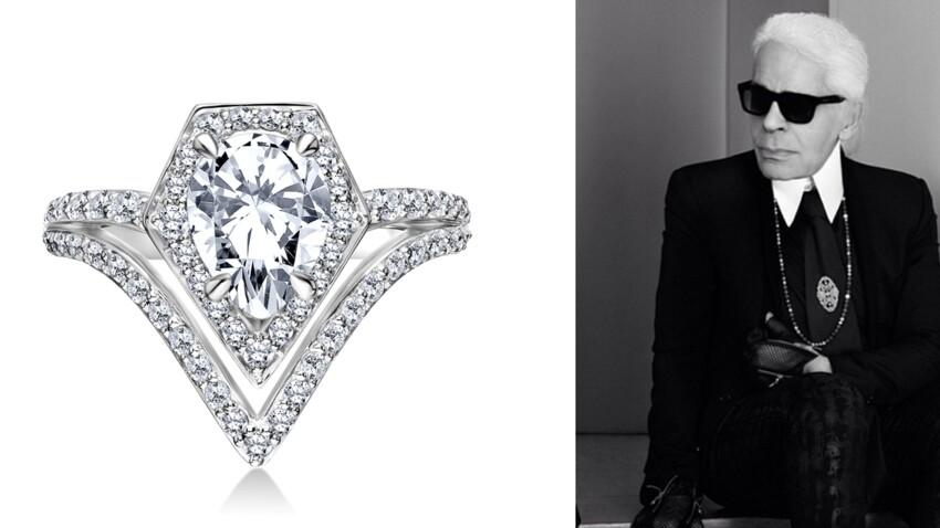 Karl Lagerfeld lance sa ligne bijoux dédiée au mariage