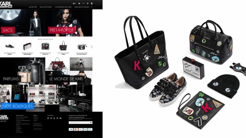 Karl Lagerfeld lance son e-shop